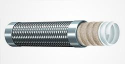 TYPE TCGS-Stainless Steel Braid Cover Convoluted PTFE Tube(glass fiber reinforced) - 翻译中...